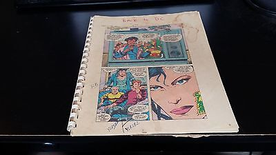 Mister Miracle 10-Full Proof Book-Production Art W/coa