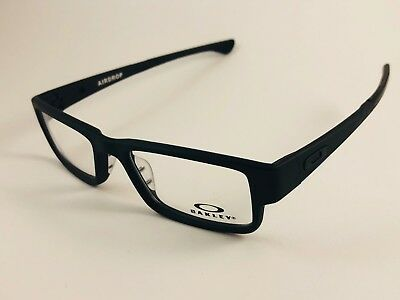 New Authentic Oakley Eyeglasses OX 8046 0155 Airdrop Satin Black w case & pouch