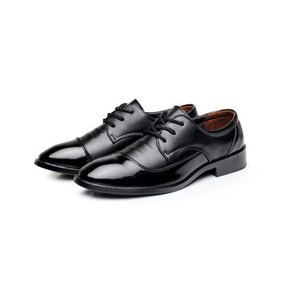 New Designer Mens Leather Italian Style Oxfords Dress Formal Shoes Black Hot