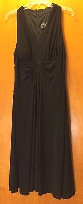 Classy Little Black Evening Special Occasion Dress By Jessica Howard