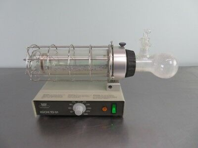 Buchi TO-51 Glass Titrator Oven with Warranty SEE VIDEO