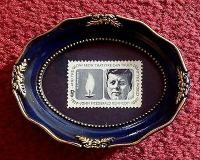 Framed President John F. Kennedy Unused 1964 U.s. Postage Stamp