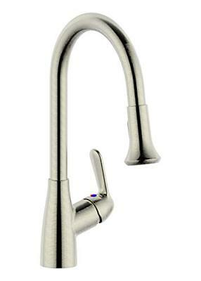 Single Handle Pull-Down Kitchen Faucet without soap dispenser