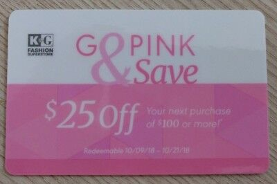 2affd541adf K G Fashion Superstore coupon for  25 off  100 valid 10 9 18 - 10