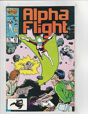 Alpha Flight (1983) #42 NM- 9.2 Marvel Comics X-Men