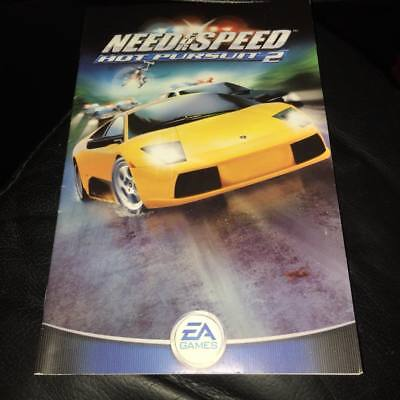 Manual For Need For Speed Hot Pursuit Ps2 No Game Disc Included