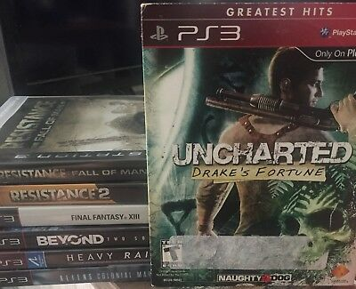 Ps3 Game Lot Including Beyond Two Souls And Heavy Rain