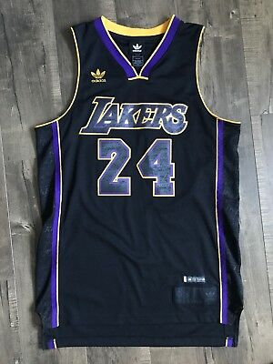 03f0cf7dd0a Kobe Bryant Los Angeles Lakers Limited Edition Adidas Jersey #24 Men's S NBA