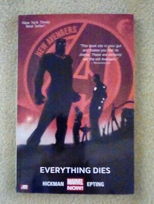 New Avengers vol 1: Everything Dies (2014, Marvel) TPB