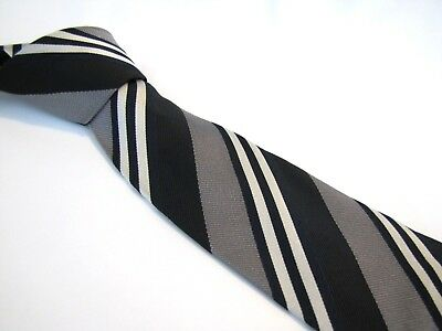 2c0e5e1ab75c switzerland burberry manston check silk tie 0a8ae 4425b; france burberry  london tie black gray white navy blue double stripe woven silk necktie  6d29e d8534