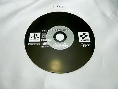 j1515 beatmania Disc 1 Japanese PS1 Disc Only Playstation Sony Japan