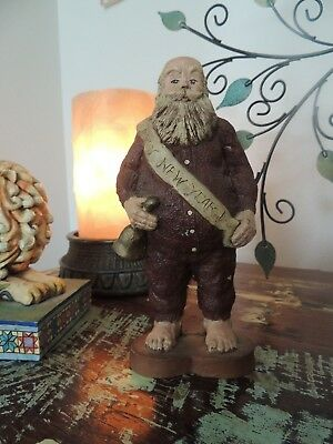 Sarah's Attic New Years Christmas Santa 1988   Signed & Number 917 6.5 inches