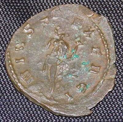 Claudius II Gothicus, AE Antoninianus, DOUBLE STRUCK, With Info ~U.S.A.ncients~
