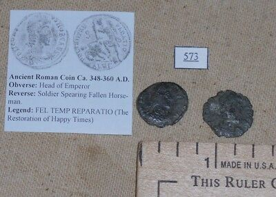 Ancient Roman Coin, Bronze, with Attribution & Information