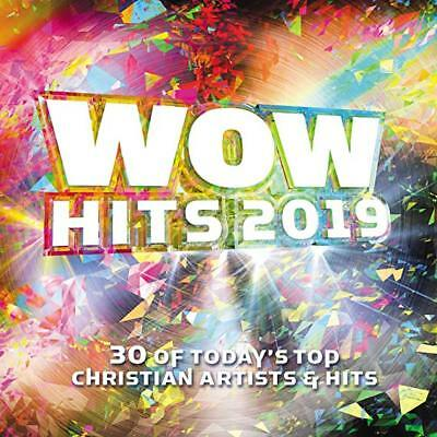Wow Hits 2019 Cd - Various Artists [2 Discs](2018) - New Unopened - Christian