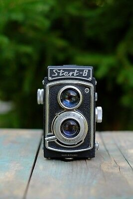 WZFO Start B TLR camera with EUKTAR lens | Rare made in Poland | 120 Roll Film