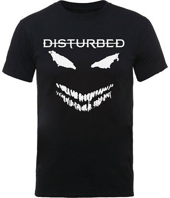 Disturbed 'Scary Face' T-Shirt - NEW & OFFICIAL!