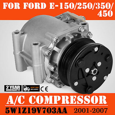 Hq Ac Compressor For Ford Explorer Expedition Crown Vic E Series   Look