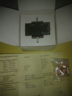 LCD counter and hour meter von RS components, im Karton, s.Text