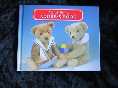 TEDDY BEARS ADDRESS BOOK  As new Hardcover