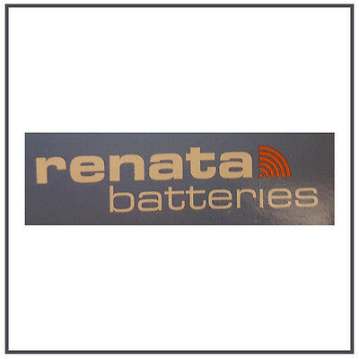 10 Renata batteries Swiss made button coin cell watch lithium 3v - ALL SIZES