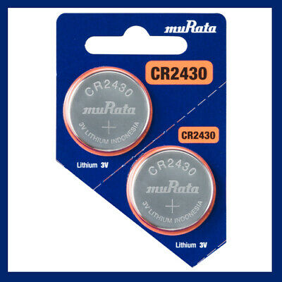 Murata CR2430 Battery 3V Lithium Coin Cell Replaces Sony CR2430 10 Batteries