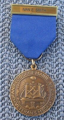 Masons Grand Lodge Of Maine Named Veterans Medal - 50 Years Of Service 1961-2011