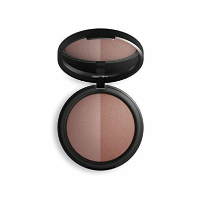 INIKA Mineral Baked Blush Duo Burnt Peach (Bittersweet/Smoulder) 6.5 g