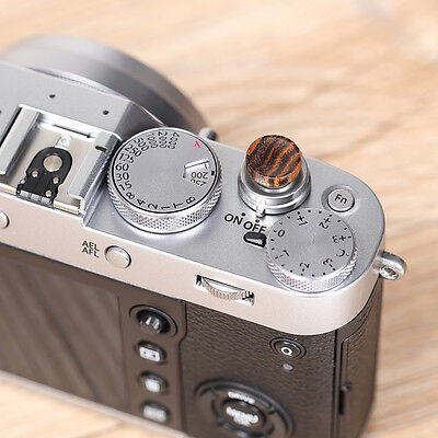 Solid Wood Soft Shutter Release Button for Fujifilm X100F X100T X2 Supply