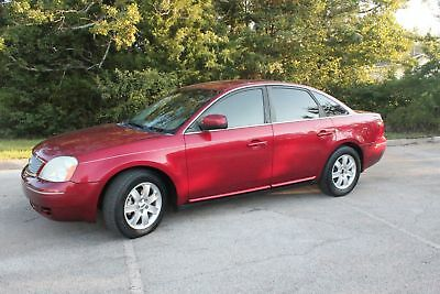 2007 Ford Five Hundred SEL 2007 Red SEL!