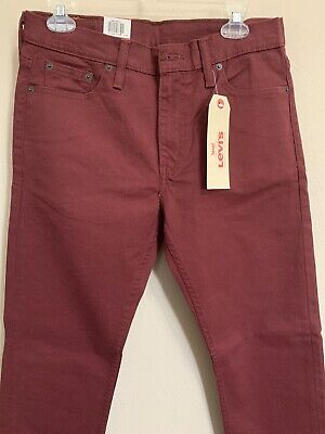 NWT Mens Levis 513 Slim Straight Fit Stretch Jeans 3 colors
