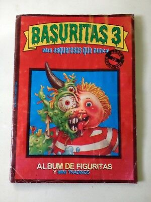 GPK Basuritas 3 Promotion Album red album with around 50% cards