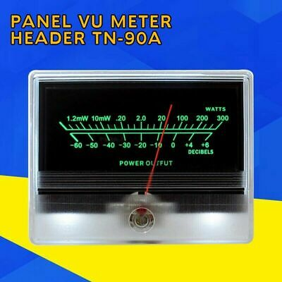 VU Panel Meter Audio Power Amplifier Indicator DB Table Level Header Back light