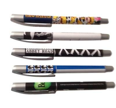 The Beatles Ballpoint Pen Set of 5 Assorted Styles John Lennon