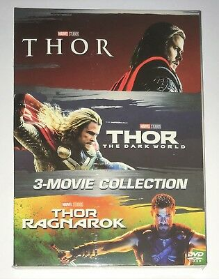 THOR 3-Movie Collection [DVD Box Set] 1-3 Complete Trilogy.