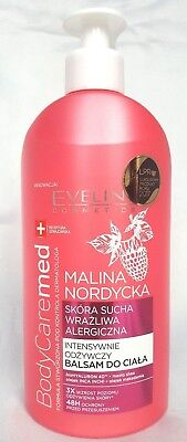 Eveline BodyCare Med+ Body Balm Intensely Nourishing , Nordic Raspberry extract