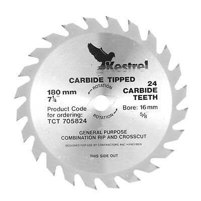 KESTREL 180mm Carbide Tipped Blade TCT 705834
