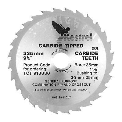KESTREL 235mm Carbide Tipped Blade TCT 913830