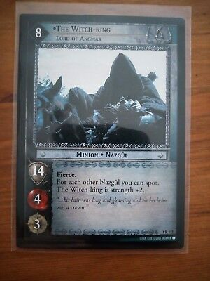 Lord Of The Rings tcg 1R237 The Witch King Lord Of Angmar