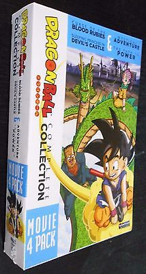 DragonBall Complete Collection DVD 4-Movie Pack Dragon Ball BRAND NEW