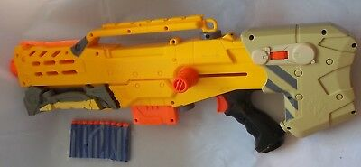 Nerf N' Strike Blaster Bundle - Longshot CS-6 & 10 Fresh Bullets - Blaster Only