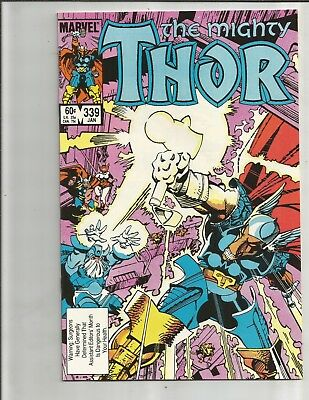 Thor 339 (1984). 1ST APPEARANCE STORMBRINGER!!!   EXTREME HIGH GRADE COPIES!!!