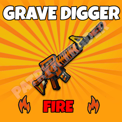 Fortnite | Weapons | Save The World | GRAVE DIGGER | 130 | MAX PERKS