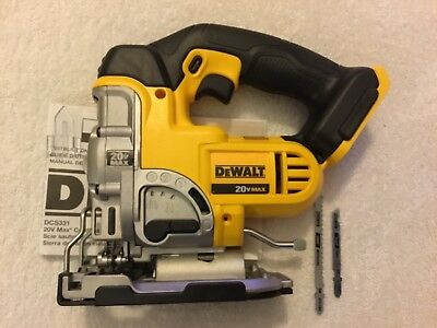 New Dewalt DCS331B 20 Volt 20V Max Cordless High Performance Jig Saw (Bare Tool)