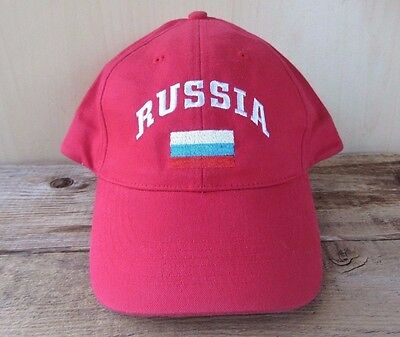 RUSSIA World Junior Hockey 2006 Official IIHF WJHC Adjustable Cap Licensed Hat