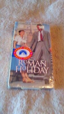 Roman Holiday (VHS, 1998) Starring Gregory Peck and Audrey Hepburn