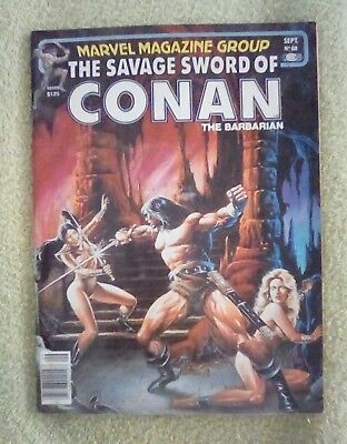 The Savage Sword of Conan (1981, Marvel) Set of 2 #68 & 69