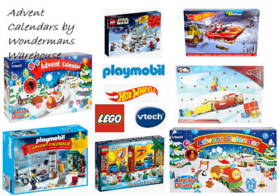 Christmas Advent Calendars - Hot Wheels/Cars/Lego/Paw Patrol/Playmobil/Peppa Pig