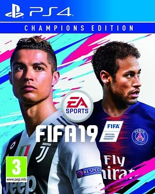 Fifa 19 Champions Edition PS4 Spiel ENG/ RUS *NEU OVP*