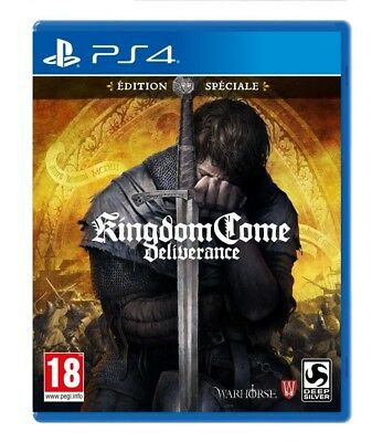 Kingdom Come Deliverance Special Edition PS4 Spiel *NEU OVP*
